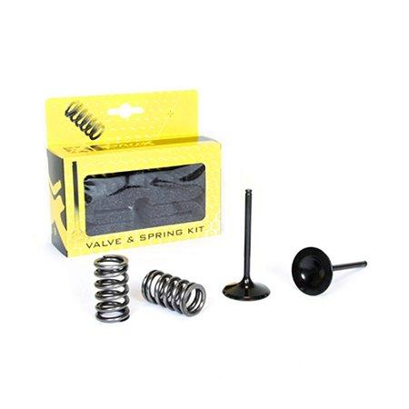 Válvula De Admissão e Molas ProX YZF 250 01/13 + WRF 250 01/13 + GAS GAS ECF 250 10/15 (KIT 3 Peças)