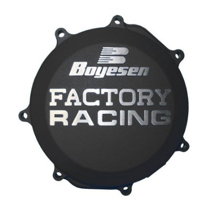 Tampa de Embreagem Boyesen KTM 250 EXC/XC 04/12 + KTM 250 SX 03/12 + KTM 300 EXC/XC-W 04/12 - Preta