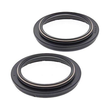Guarda Pó BR Parts (Par) CRF 250 15/18 + CRF 450 17/18 + KXF 450 15/18 + RM 125/250 96/00 - 49X60