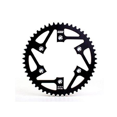 Coroa BR Parts Alumínio YZ/WR 125/250/400/426/450F 98/15 - 520X47D - Preta