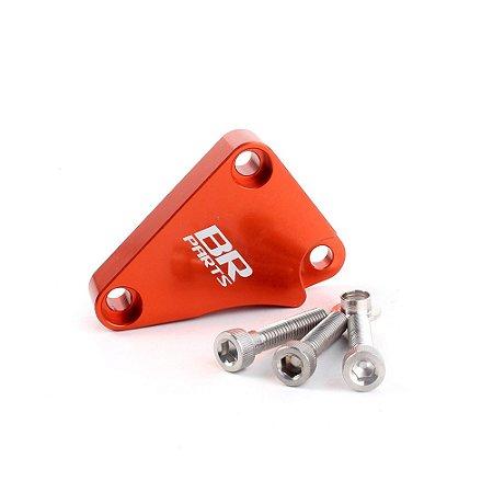 Protetor da Embreagem Hidráulica BR Parts (Case Guard) KTM 250 SX-F 08/12 + 450 SX 12/14 - Laranja