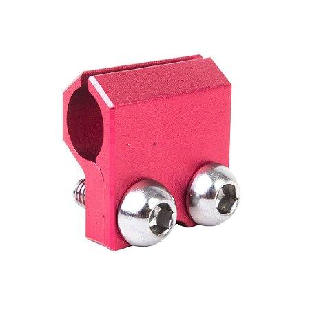 Guia do Flexível de Freio BR Parts CRF 250 04/20 + CRF 450 04/20 + CRF 250X 06/17 + CRF 450X 05/07 - Vermelho