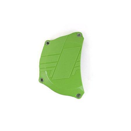 Protetor da Tampa de Embreagem BR Parts KXF 250 09/16 - Verde