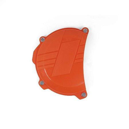Protetor Da Tampa De Embreagem BR Parts KTM 250 SXF/XCF 13/15 + 250 EXCF/XCFW 14/16 + 350 SXF/XCF 11/15 - Laranja