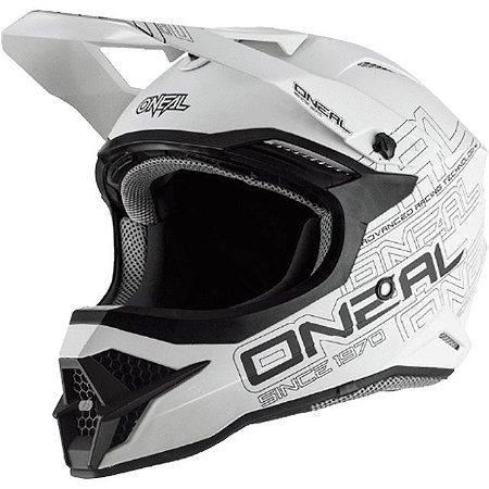 Capacete O'Neal 3Series Helmet Flat 2.0 - Branco