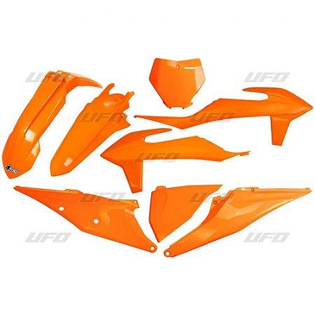 Kit Plástico Ufo KTM SX/SX-F 19/21 - Laranja