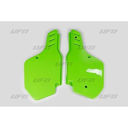 Number Lateral Ufo KX 125 88/89 + KDX 200 90/94 + KX 250 88/89 + KX 500 88/02 - Verde