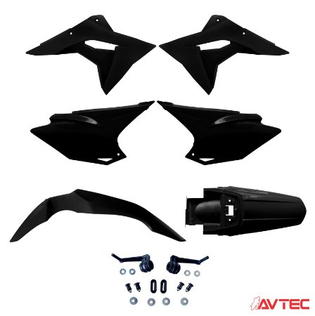 Kit Plástico AVTEC CRF 230F 2019 Pró Completo