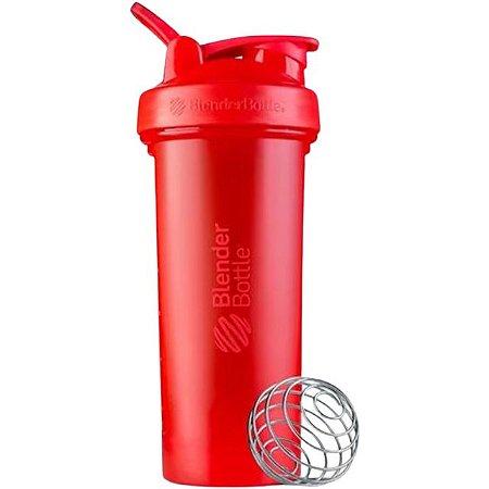 Coqueteleira Blender Bottle Classic V2 830ml - Vermelho