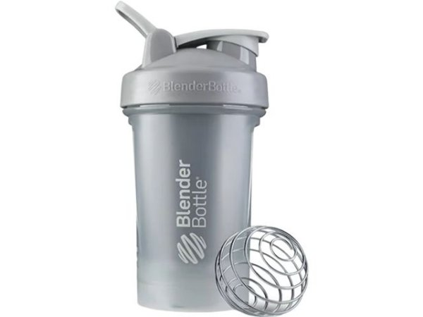 Coqueteleira Blender Bottle Classic V2 590ml - Cinza