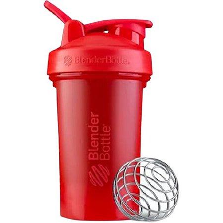 Coqueteleira Blender Bottle Classic V2 590ml - Vermelho