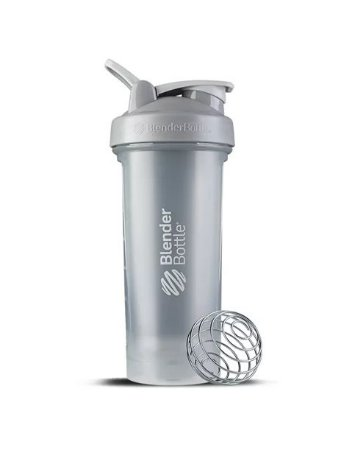 Coqueteleira Blender Bottle Classic V2 830ml - Cinza