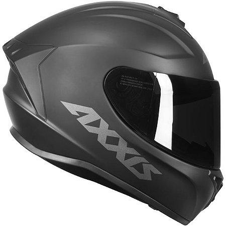 Capacete Axxis Draken Solid Mono Matte - Preto