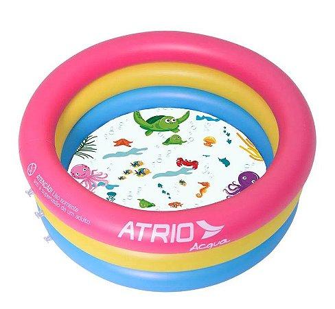 Piscina Inflável Infantil Circular Atrio