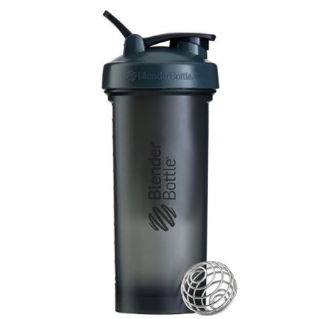 Coqueteleira Blender Bottle PRO45 Fullcolor 45OZ / 1300ML - Cinza/Preto