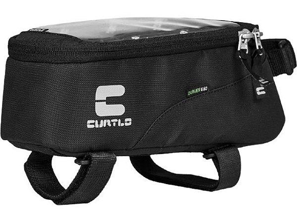 Bolsa De Quadro Para Bike Curtlo Phone Bag Plus - Preta