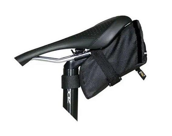 Bolsa De Selim Para Bike Probike Combat - Preta/Cinza
