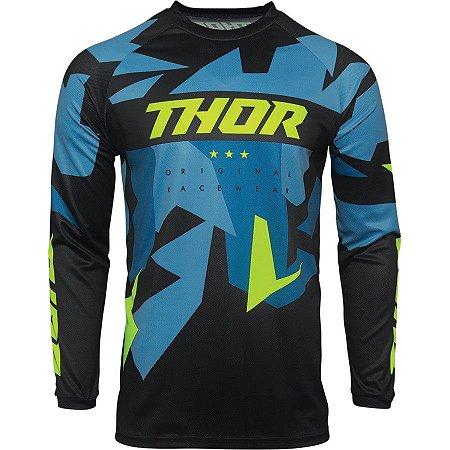 Camisa Thor Sector Warship - Azul/Verde