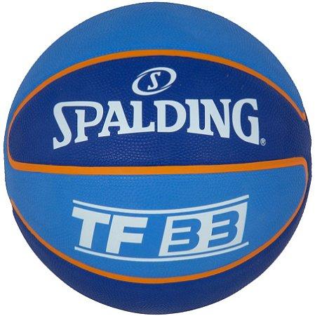 Bola De Basquete Spalding NBA 3X - Borracha - Azul