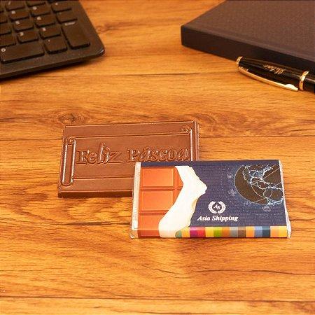 Tablete chocolate - Feliz Páscoa 25 gr.