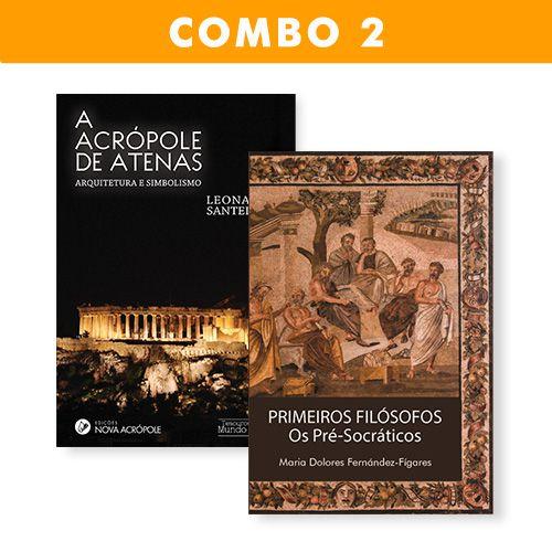 """Combo 2 - """"A Acrópole de Atenas"""" e """"Os primeiros Filósofos"""""""