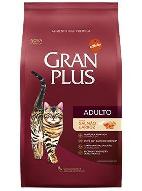 Granplus Gatos Adultos Salmão & Arroz