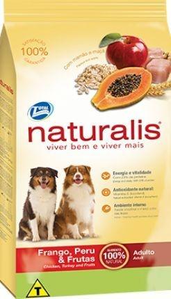 Ração Total Naturalis Frango Peru & Frutas para cães adultos