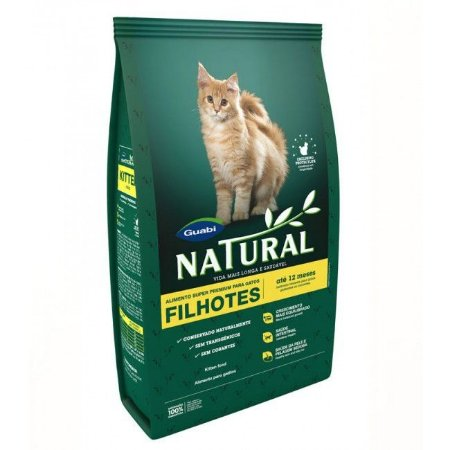Natural Gatos Filhotes 1,5 Kg