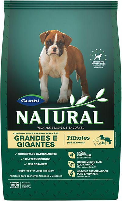 Natural Cães filhotes Grandes e Gigantes