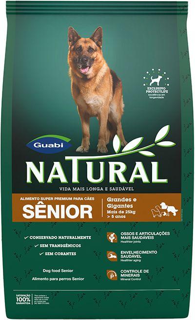 Natural Cães Sênior Porte Grande e Gigante