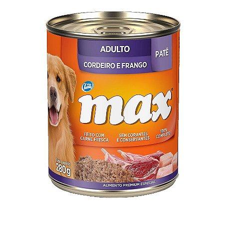 Pate Total Max Cães  Cordeiro e Frango