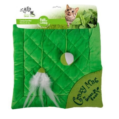 Green Rush - Crazy Cat Mat