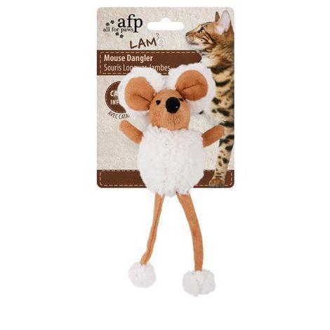 Ratinho Pelucia com Catnip