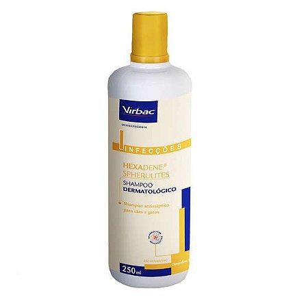 Shampoo Dermatologico para cãẽs e gatos - Hexadene Spherulites