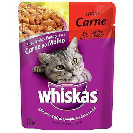 Ração Whiskas Sachê gatos adultos