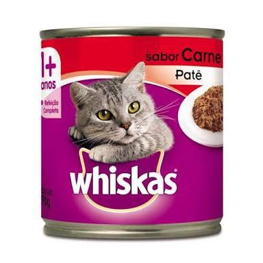 Whiskas Patê Sabor Carne