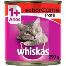 Kit PVA 24 patês Whiskas Carne