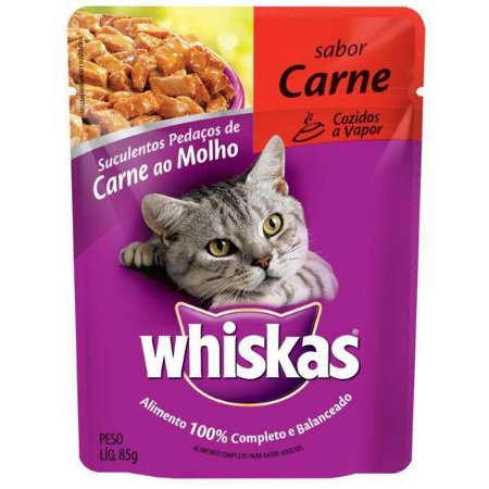 Kit PVA 12 sachês Whiskas