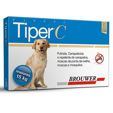 Tiper C cães acima de 15 kg