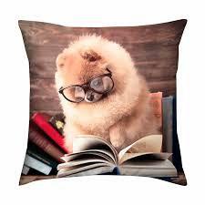 Capa de almofada Dog Estudo