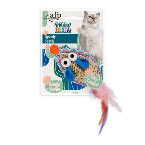 Brinquedo Whisker fiesta ratinho Speedy