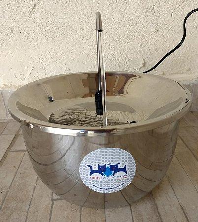 Fonte em inox 2 litros