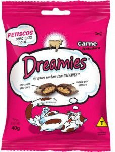 Petisco Dreamies Carne