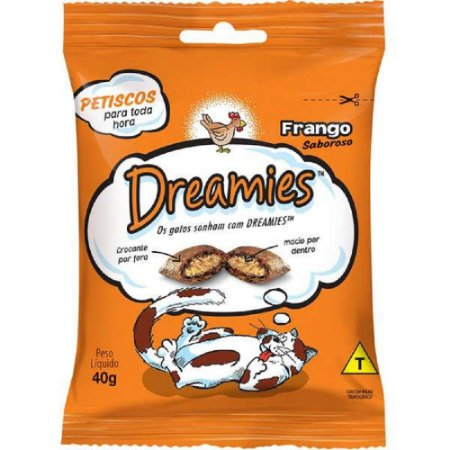 Petisco Dreamies Frango