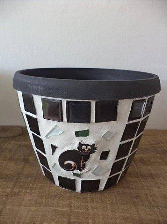 Fonte Pastilhada gato preto 110 watts