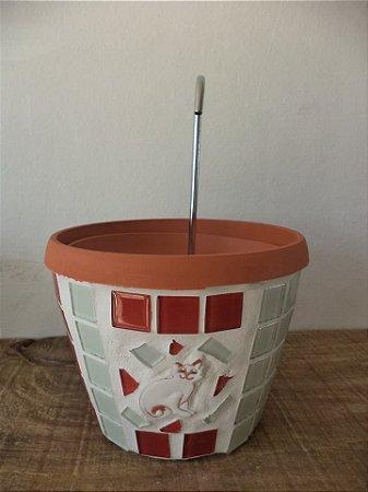 Fonte pastilhada 1 litro branca e vermelha 110 watts