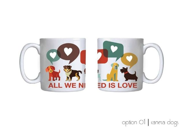 Caneca All We Need is Love 2