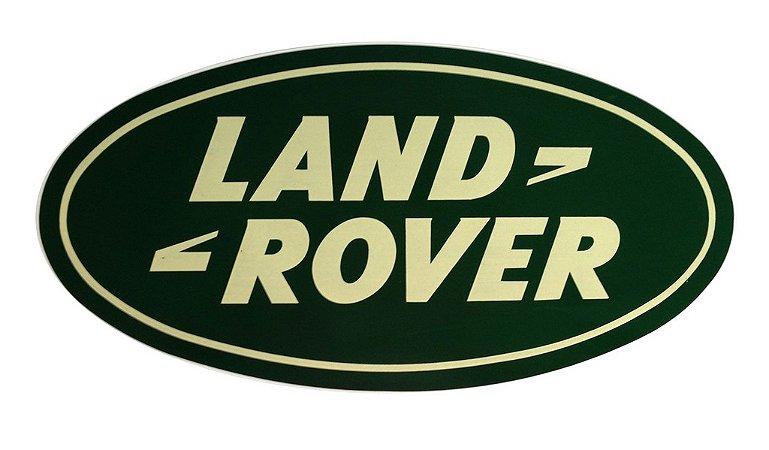 Adesivo Land Rover 39x20 cm - Oficial - 2 Unidades