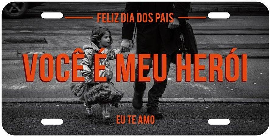 Placa Dia dos Pais - Menina Mod. 2
