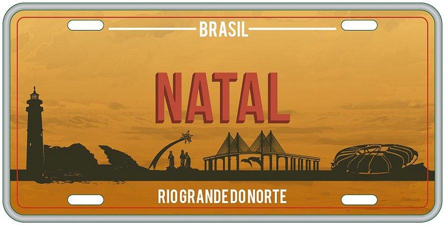 Placa Decorativa NATAL